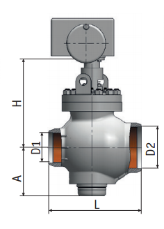 Regulating Rotary Valve 6с-13-3Э| Pictures