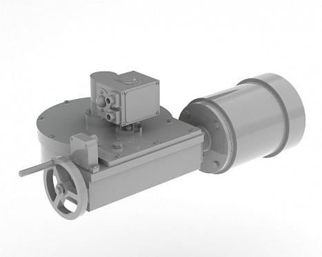 Built-in actuator АМК-ЕА-IW-4000 for industrial valves
